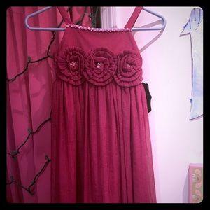NWT girls Christmas dress 7-8